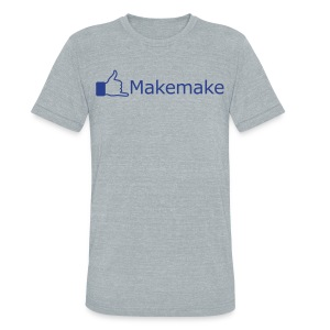 (Hawaiian) Facebook Like - Unisex Tri-Blend T-Shirt by American Apparel