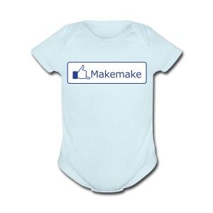 (Hawaiian) Facebook Like - Short Sleeve Baby Bodysuit
