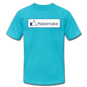 (Hawaiian) Facebook Like - Men's T-Shirt by American Apparel