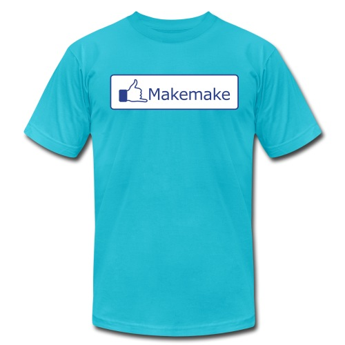 (Hawaiian) Facebook Like - Men's Fine Jersey T-Shirt