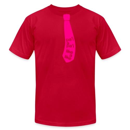 (Hawaiian) It's A Tie! - Men's Fine Jersey T-Shirt