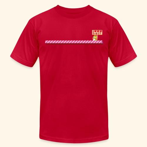 I Heart 8-Bit - Men's Fine Jersey T-Shirt