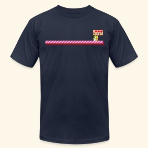 I Heart 8-Bit - Men's T-Shirt by American Apparel
