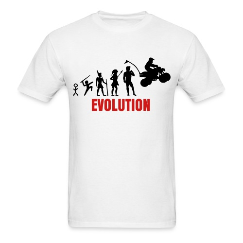 Evolution of Man Tee - Men's T-Shirt