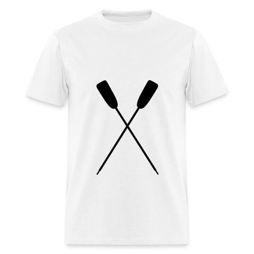 Rowing-Men's Stndrd (Back text) - Men's T-Shirt