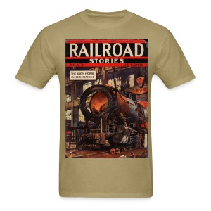 Railroad Stories 5/37 - Men's T-Shirt