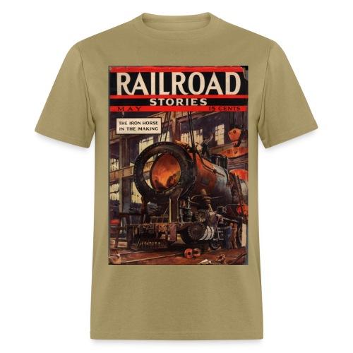 Railroad Stories 5/37 - Men's T-Shirt