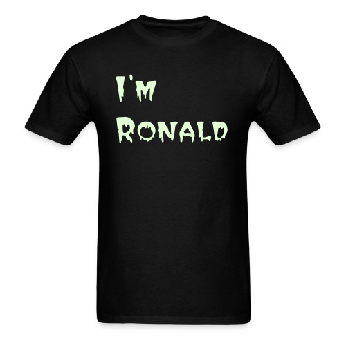 I'm Ronald tee: Glow-in-the-Dark Nate Special - Men's T-Shirt