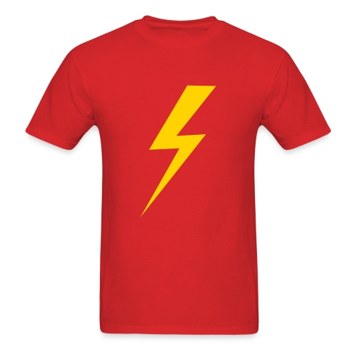 Standard Lightning Bolt Custom Color Tee - Men's T-Shirt