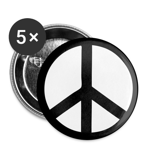 Peace - Buttons large 2.2'' (5-pack)