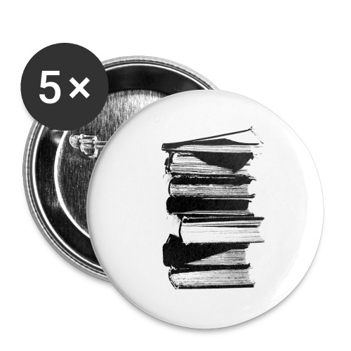 Book Pin - Large Buttons