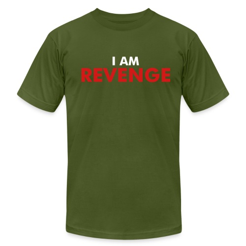 I am Revenge Army - Men's Fine Jersey T-Shirt