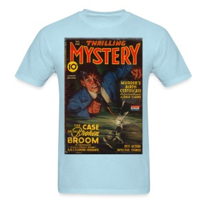 Thrilling Mystery w/Green Ghost Fal/43 - Men's T-Shirt