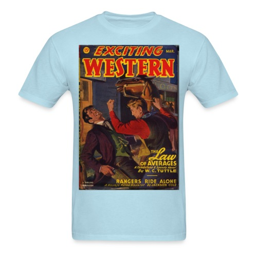 Exciting Western 3/47 Tuttle - Men's T-Shirt