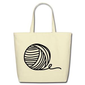 Yarn Addict Tote - Eco-Friendly Cotton Tote