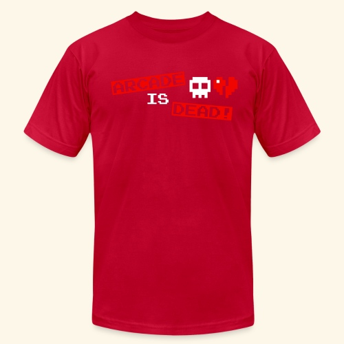 Arcade is Dead - Men's Fine Jersey T-Shirt