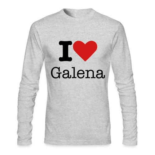 Galena Love long sleeve T-Shirt - Men's Long Sleeve T-Shirt by Next Level