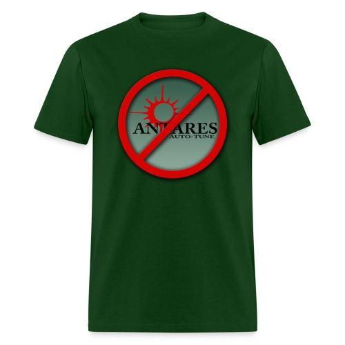 No Auto Tune! - Std shirt - Men's T-Shirt