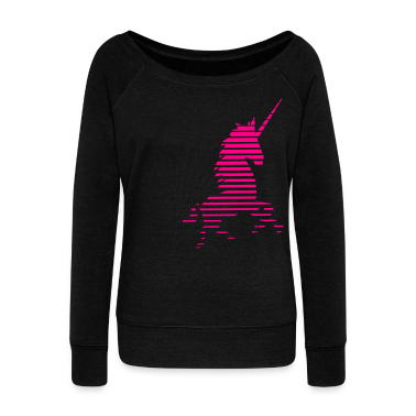 Acid Unicorn Women's Wideneck Sweatshirt