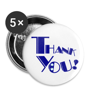 Thank you! Small Buttons