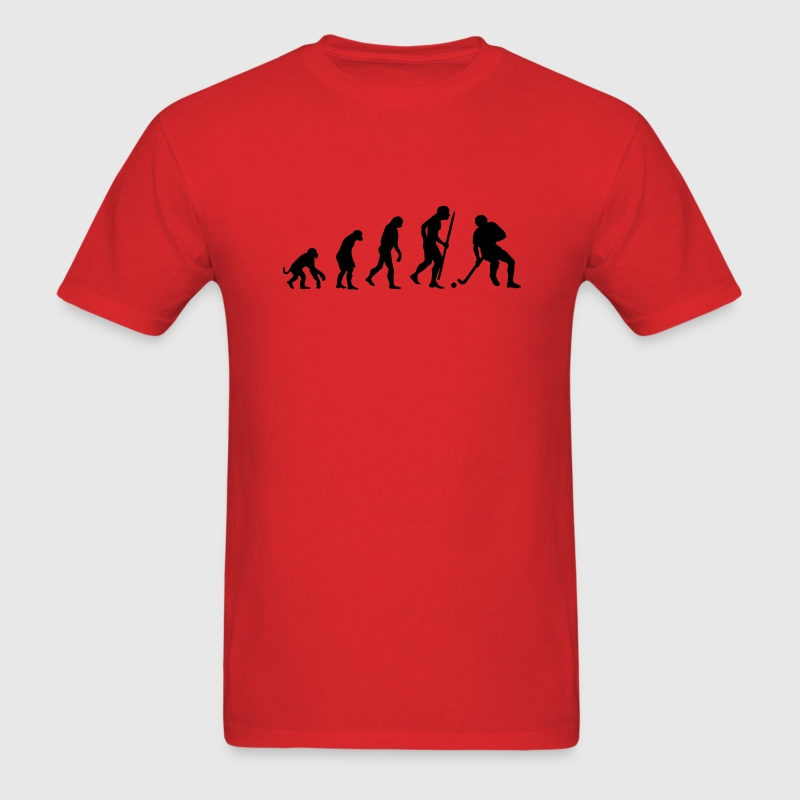 Evolution of field hockey T-Shirts - Men's T-Shirt