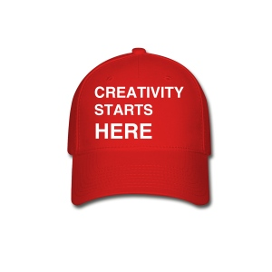 Sessions College - Creativity Starts Here, Baseball Cap - Red - Baseball Cap