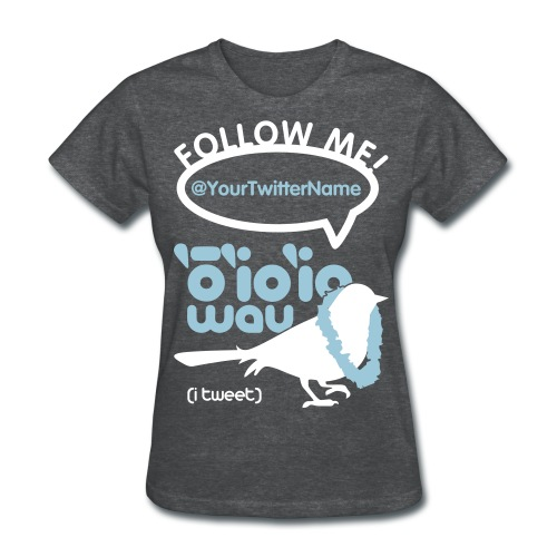 (Hawaiian) Twitter - Women's T-Shirt