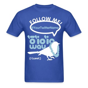 (Hawaiian) Twitter - Men's T-Shirt
