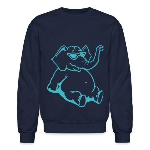 Elephants got swag - Crewneck Sweatshirt