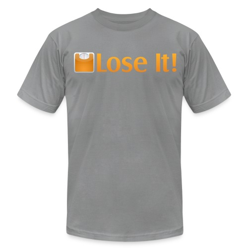 Lose It! T-Shirt  - Men's T-Shirt by American Apparel