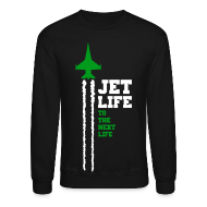 Long Sleeve Shirts ~ Crewneck Sweatshirt ~ Jet Life Crew Neck