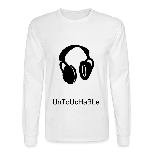 Untouchable Recordin - Men's Long Sleeve T-Shirt