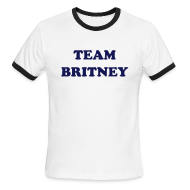 T-Shirts ~ Men's Ringer T-Shirt ~ Team Britney T-Shirt Ringer Tee