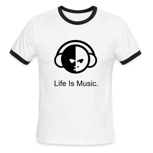 Life Is Music - Men's Ringer T-Shirt
