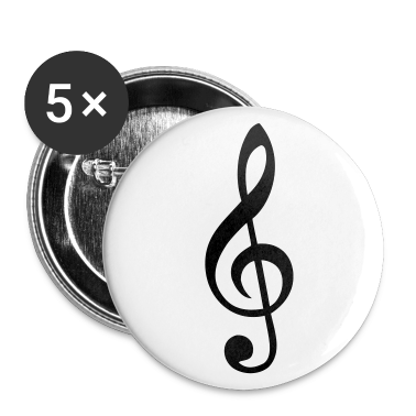 treble clef Buttons