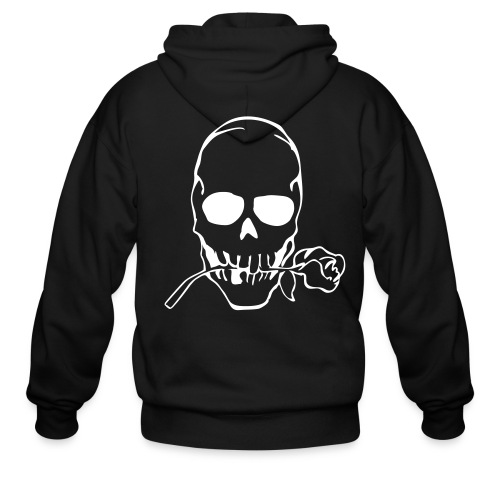 Roses Of Death. - Men's Zip Hoodie