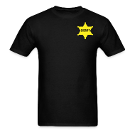 T-Shirts ~ Men's T-Shirt ~ Sheriff Tee