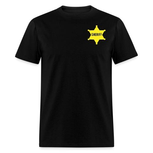 Sheriff Tee - Men's T-Shirt