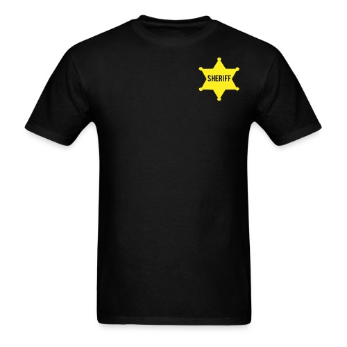Sheriff Tee - Men's T-Shirt