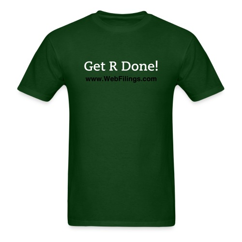 Get R Done! - Men's T-Shirt