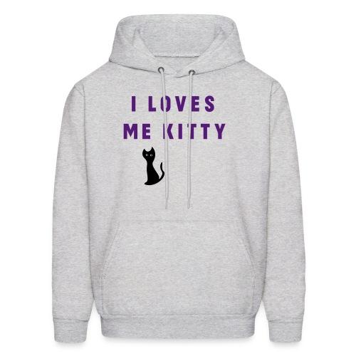 I LOVES ME KITTY - UH - Men's Hoodie