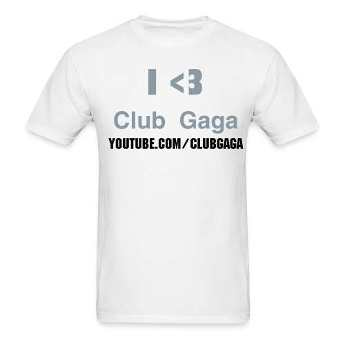 Club Gaga Kids T-Shirt White - Men's T-Shirt