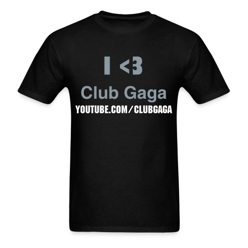 Club Gaga Kids T-Shirt Black - Men's T-Shirt
