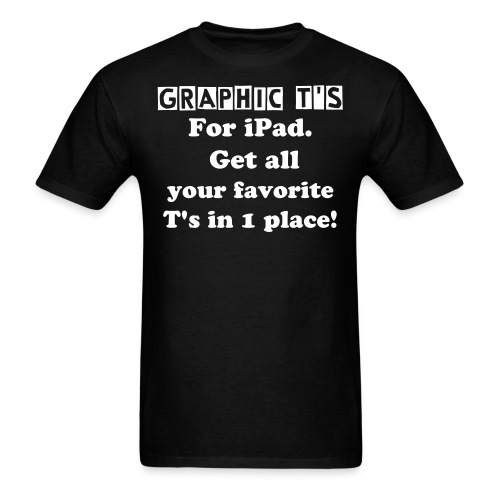 Graphic T's - Men's T-Shirt