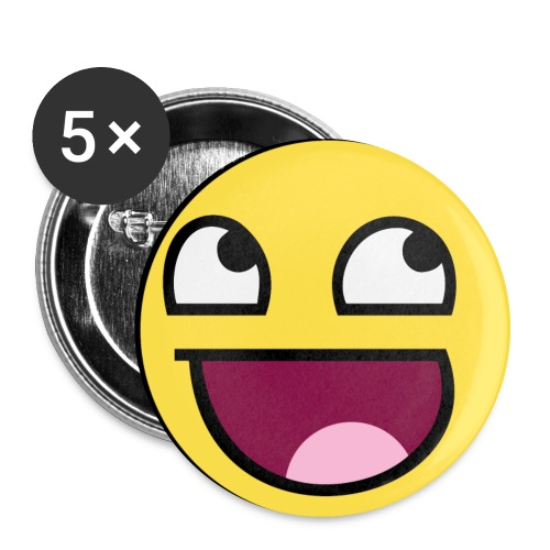 Face Pin - Large Buttons