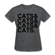 Women's T-Shirts ~ Women's T-Shirt ~ CATS