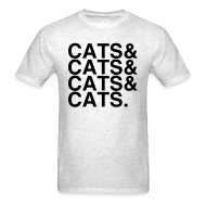 T-Shirts ~ Men's T-Shirt ~ CATS