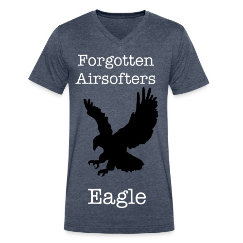 Eagle's Shirt - Men's V-Neck T-Shirt by Canvas