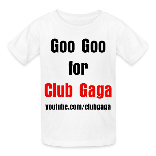 Goo Goo for Club Gaga Kids Regular T-Shirt - Kids' T-Shirt