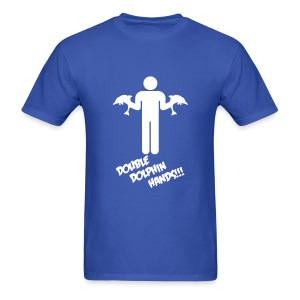 DOUBLE DOLPHIN HANDS! - Men's T-Shirt